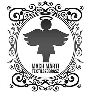 Mach Márti textilszobrász logoja